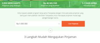 Pinjam Uang 5 Juta Tanpa Jaminan Ajukan di Tokopedia Saja, Mudah Kok