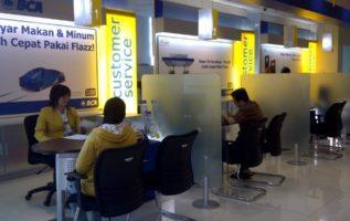 Nominal Setoran Deposit Ke Bank BRI ,Mandiri,BNI Dan BCA